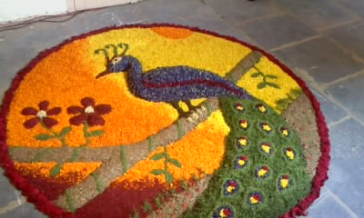 Pookalam Competition 2012 Entry 3 Festivals